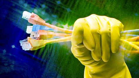 Problemi di banda: internet lento