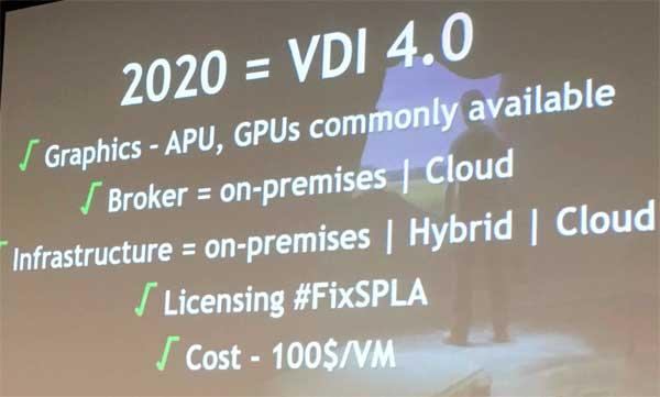 Le tendenze per il futuro del VDI