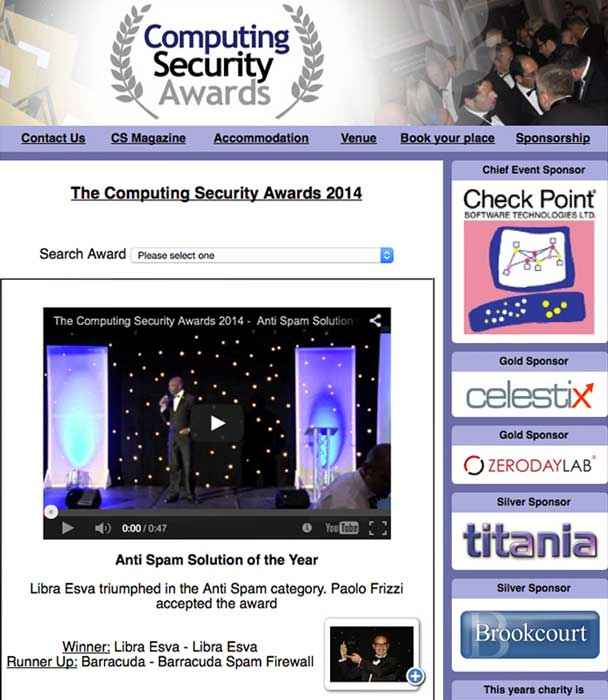 computing security award
