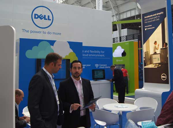 uno stand Dell al Cloud World Forum 2014