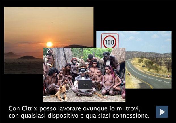 Il diario di viaggio con Citrix