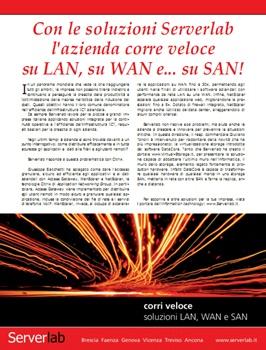 l'azienda corre veloce su LAN, su WAN e... su SAN!
