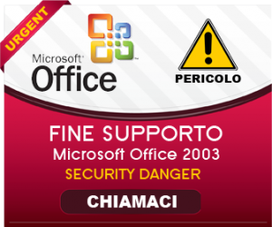 Fine supporto Office 2003: un crescendo di vulnerabilità