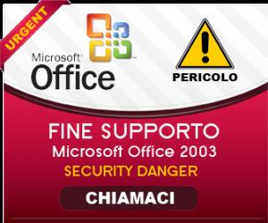 Fine supporto Office 2003: un crescendo di vulnerabilità